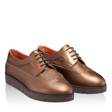 Pantofi Casual Dama 4187 Vit Foro Castagna