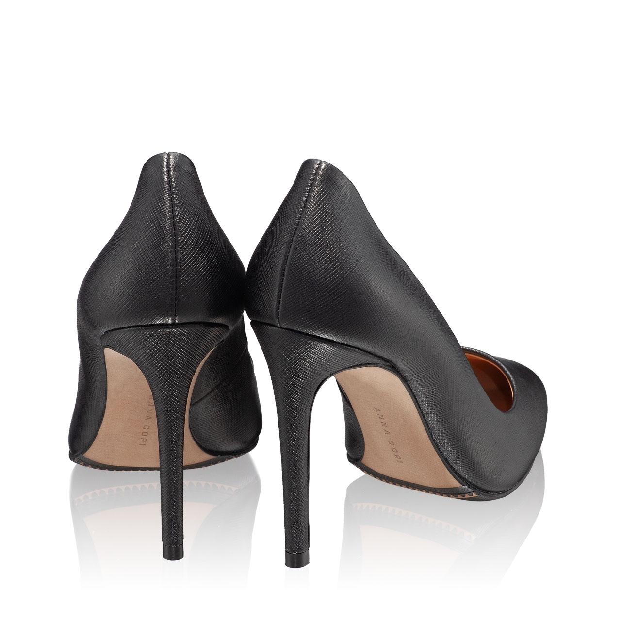 Imagine Pantofi Eleganti Dama 4332 Saffiano Negru