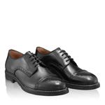 Imagine Pantofi Casual Barbati 6610 Vitello Negru