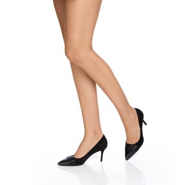 Pantofi eleganti dama 5592 Cam+Cocco Negru
