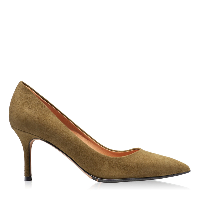 Imagine Pantofi eleganti dama 4416 Camoscio Bosco