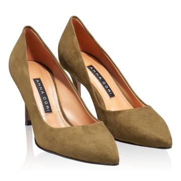 Pantofi eleganti dama 4416 Camoscio Bosco