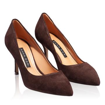 Pantofi eleganti dama 4416 Camoscio T.Moro