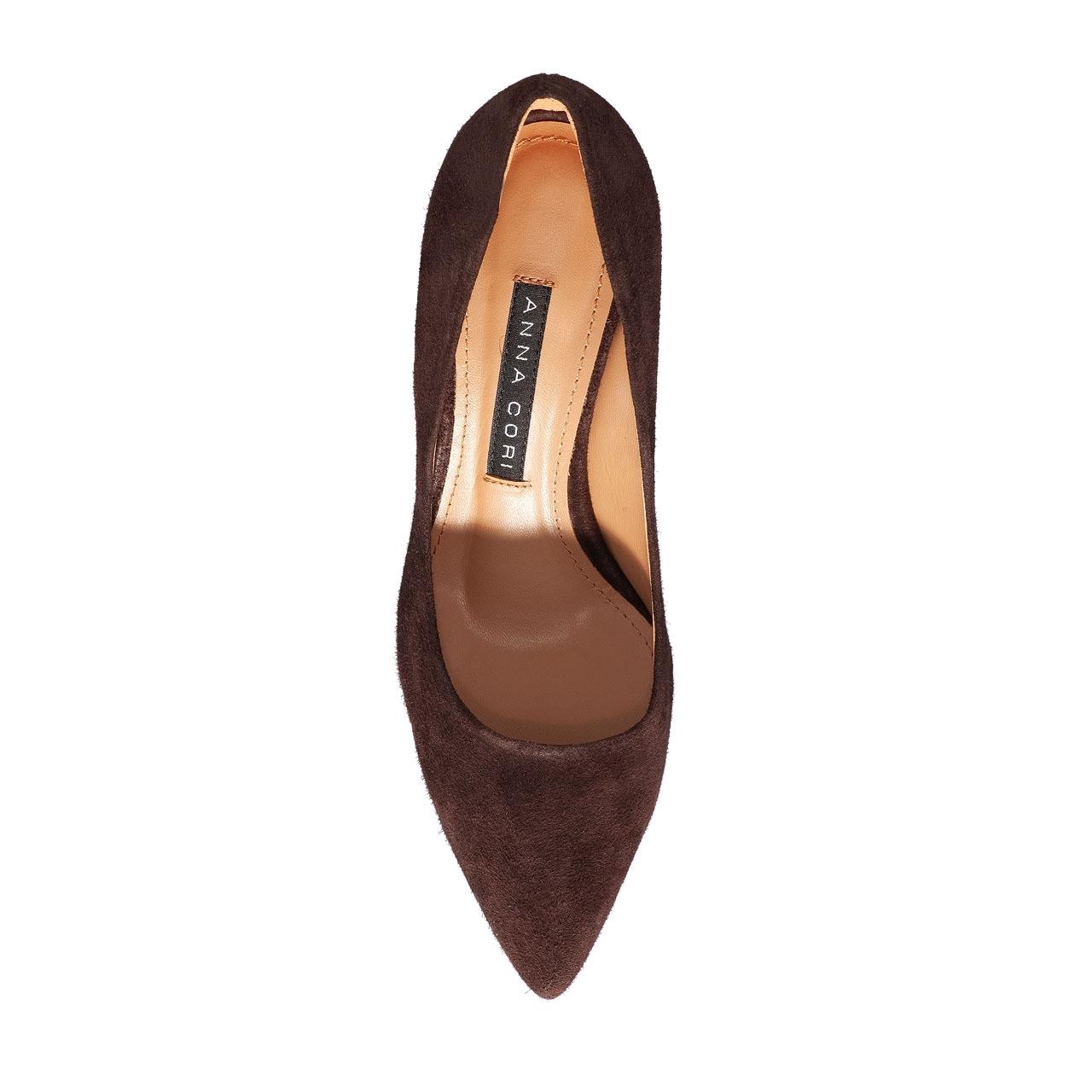 Imagine Pantofi eleganti dama 4416 Camoscio T.Moro