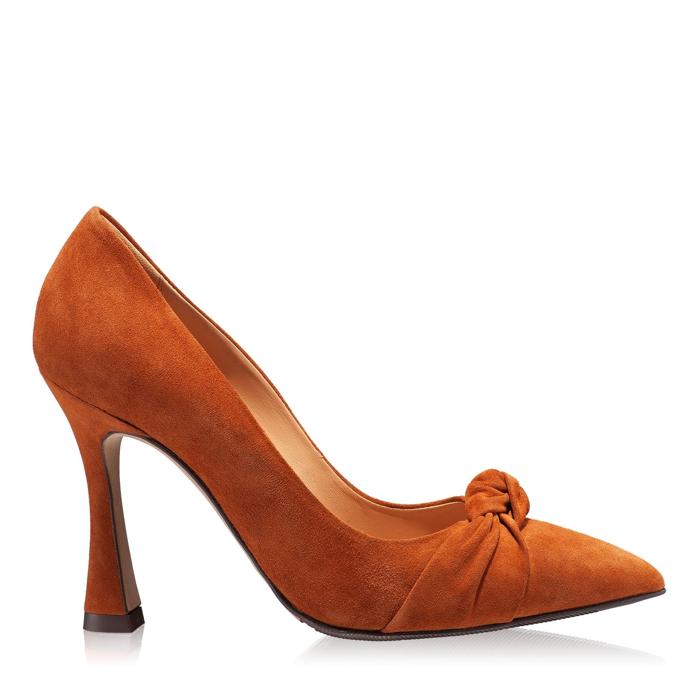 Imagine Pantofi eleganti dama 5902 Camoscio Cuoio