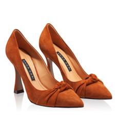 Pantofi eleganti dama 5902 Camoscio Cuoio
