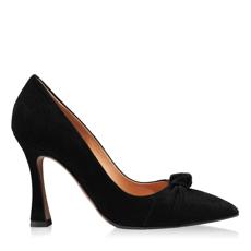 Imagine Pantofi eleganti dama 5902 Camoscio Negru