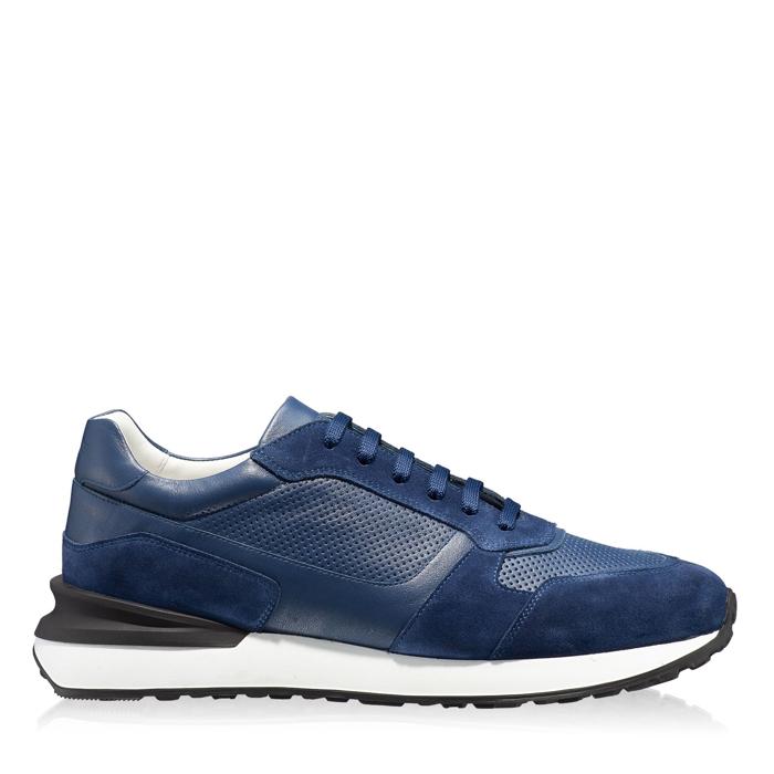 Imagine Pantofi sport 6901 Vit+Crosta Blue
