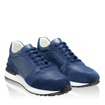 Pantofi sport 6901 Vit+Crosta Blue