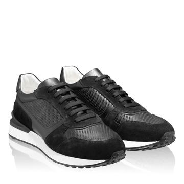 Pantofi sport 6901 Vit+Cr Negru