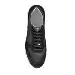 Imagine Pantofi sport 6901 Vit+Cr Negru