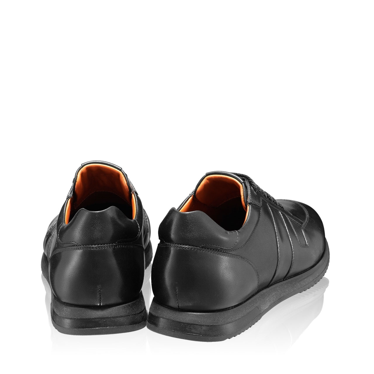 Imagine Pantofi Casual 6985 Vitello Negru