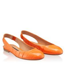 Balerini Dama 5545 Croco Arancio