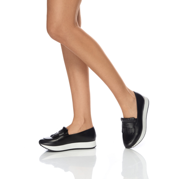 Pantofi Casual 7112 Vitello Negru