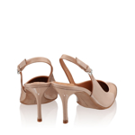 Imagine Pantofi Decupati Dama 5728 Lac Nude