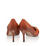 Imagine Pantofi Dama Eleganti 5871 Vitello Cuoio