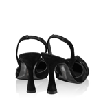 Imagine Pantofi Eleganti 5898 Camoscio Negru