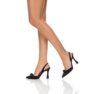 Pantofi Eleganti 5898 Camoscio Negru