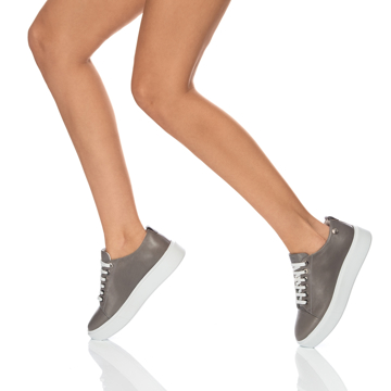Pantofi Sport Dama 6962 Vitello Gri