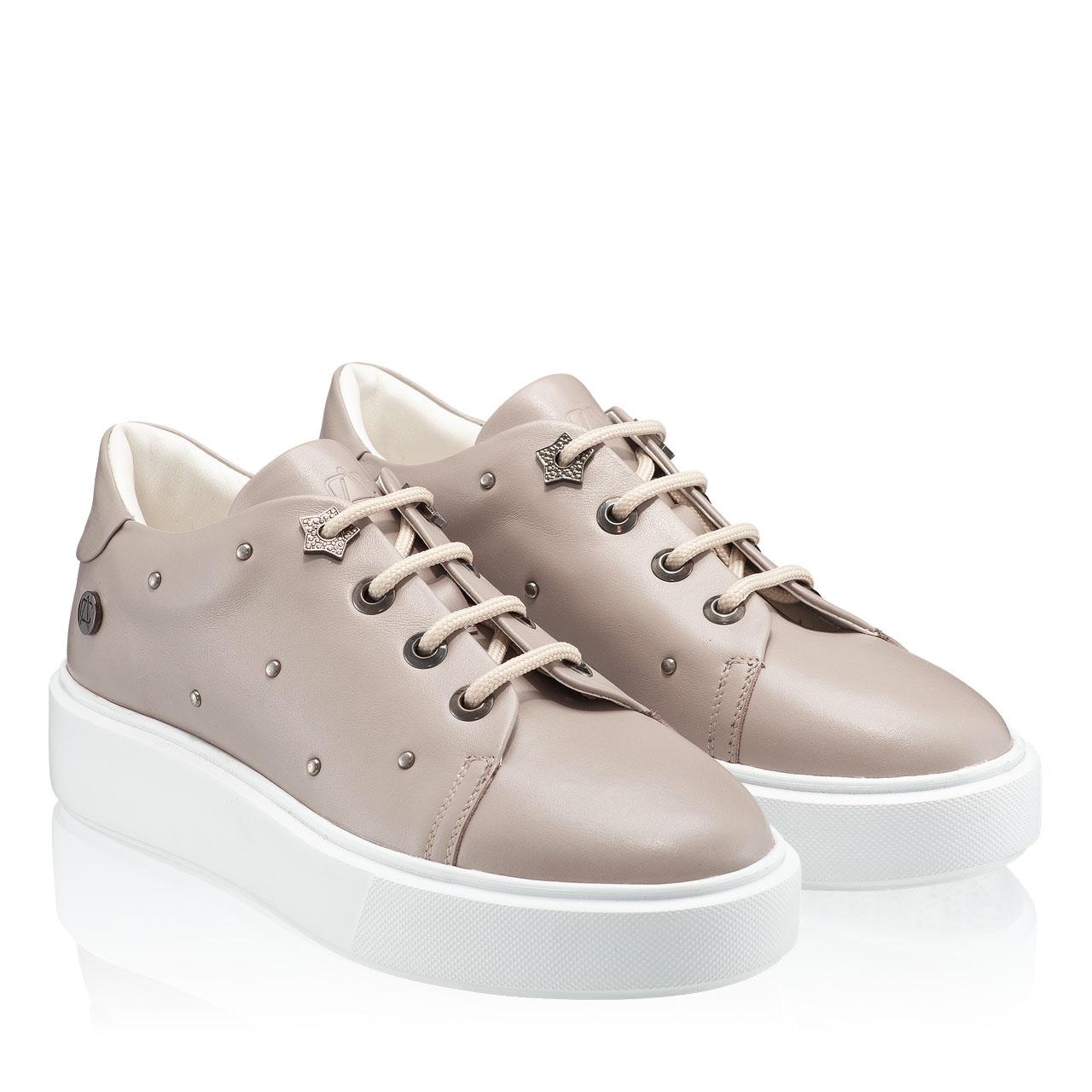 Imagine Pantofi Sport Dama 6963 Vitello Taupe