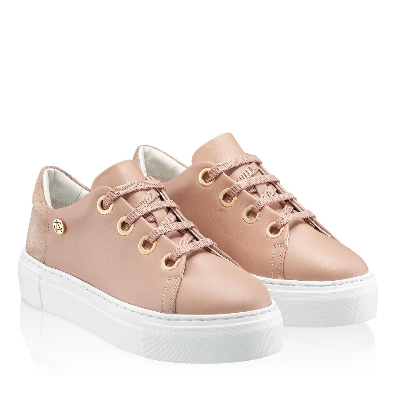 Imagine Pantofi Sport Dama 7102 Vitello Nude