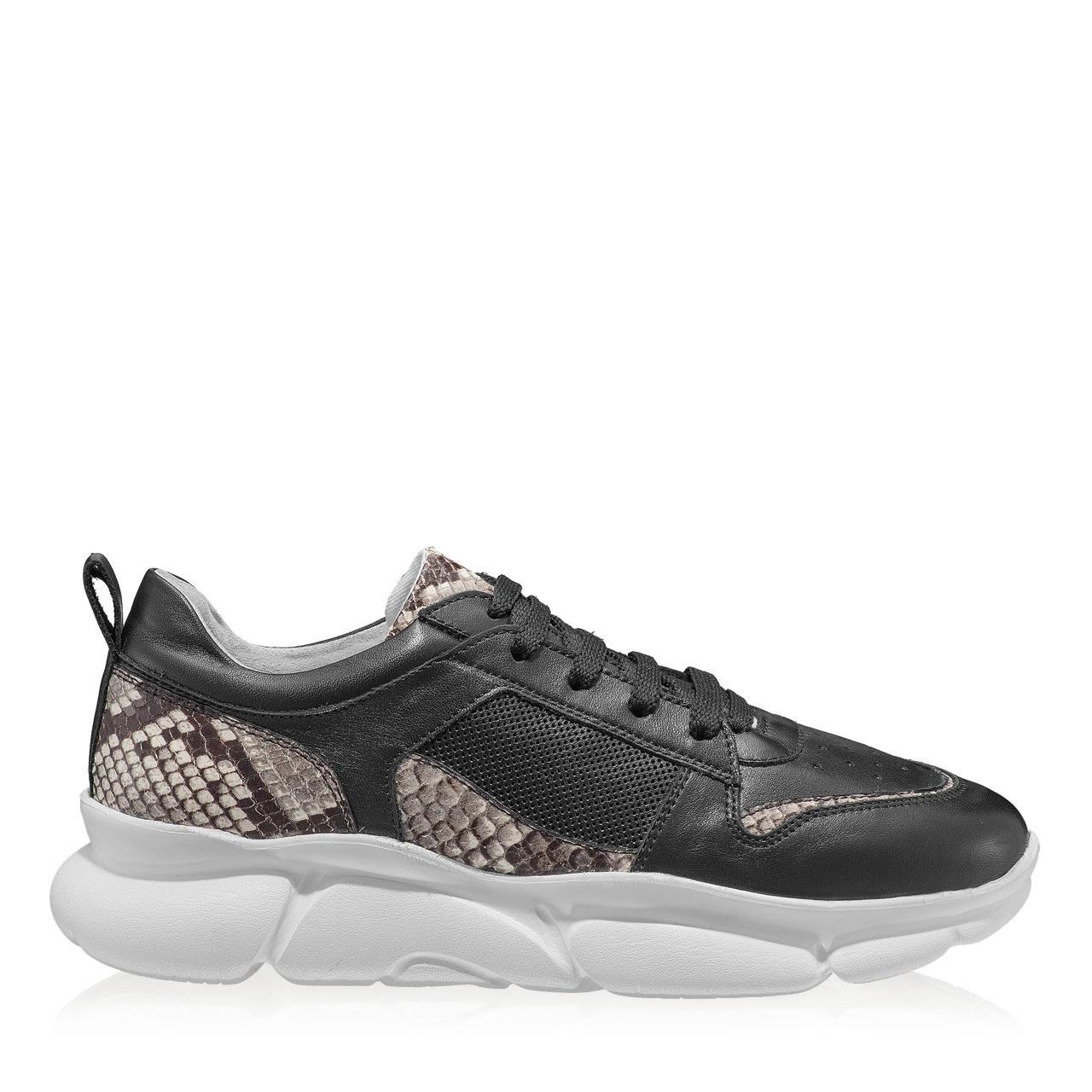 Imagine Pantofi Sport Dama 7107 Vitello Negru