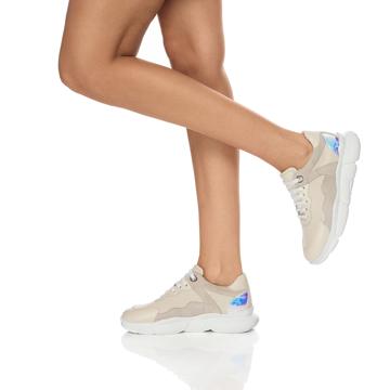 Pantofi Sport Dama 7108 Vitello Off White