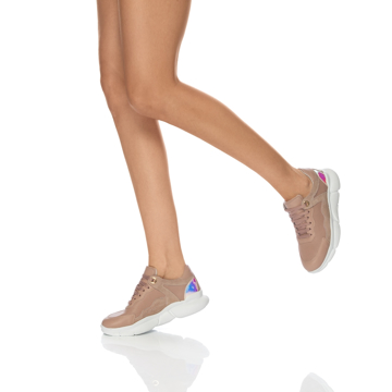 Pantofi Sport Dama 7108 Vitello Nude
