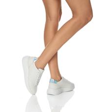 Pantofi Sport Dama 7110 Vitello Bianco