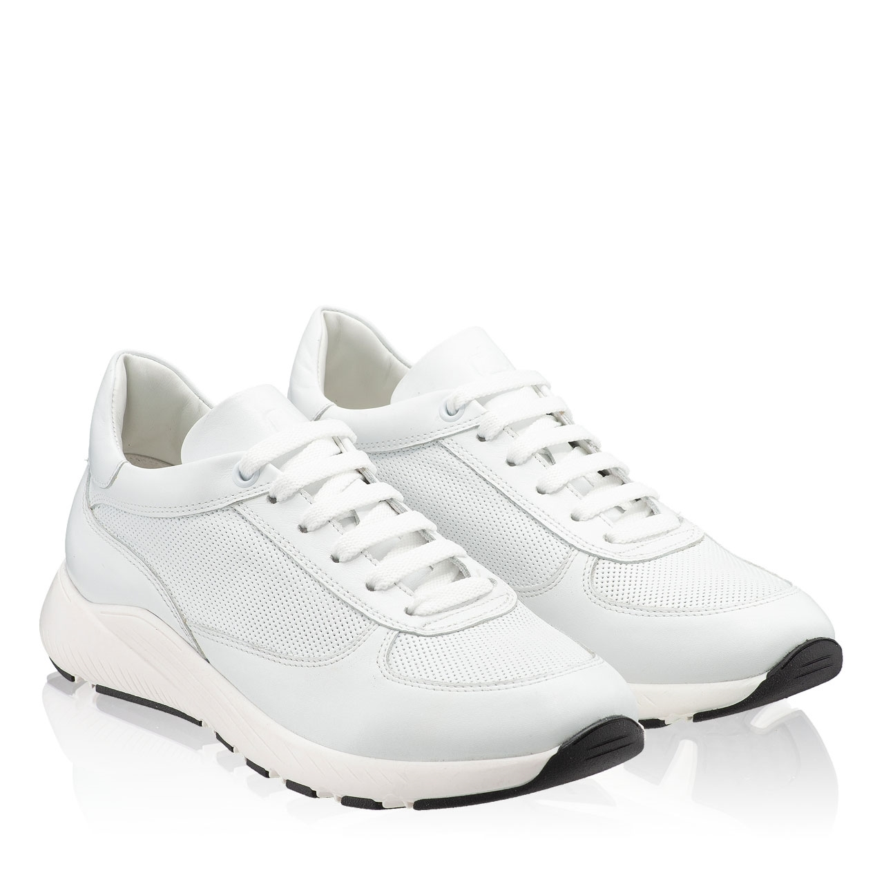 Imagine Pantofi Sport 7115 Vitello Bianco