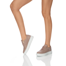 Pantofi sport Dama 7116 Nappa Nude