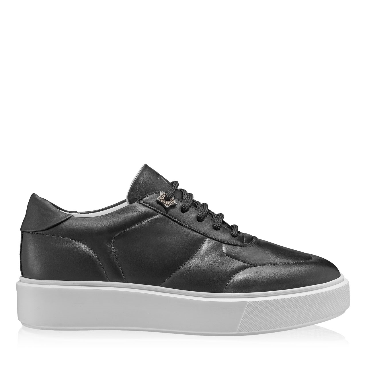 Imagine Pantofi sport dama 7116 Vitello Negru