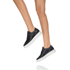 Pantofi sport dama 7116 Vitello Negru