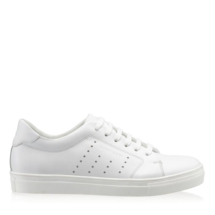 Imagine Pantofi Sport Dama 7118 Vitello Bianco