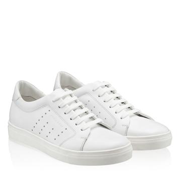 Pantofi Sport Dama 7118 Vitello Bianco