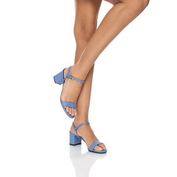Sandale 4587 Vitello Azzurro