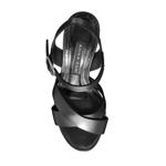 Imagine Sandale 4702 Vitello Negru