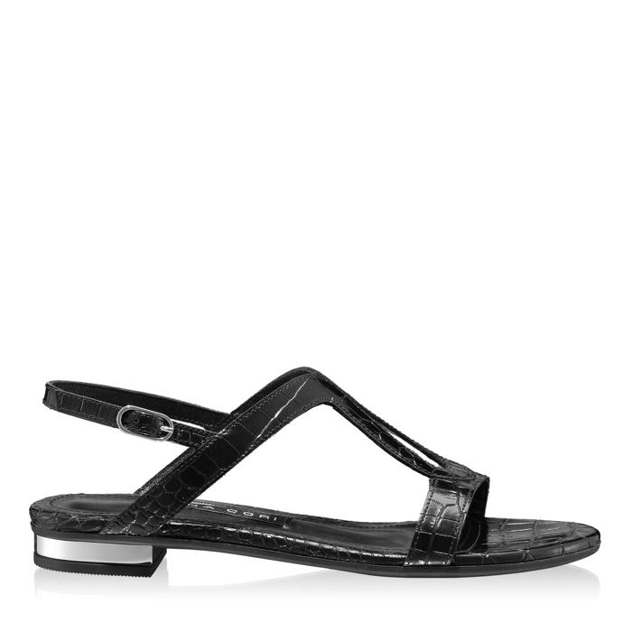 Imagine Sandale Dama 5844 Croco Negru