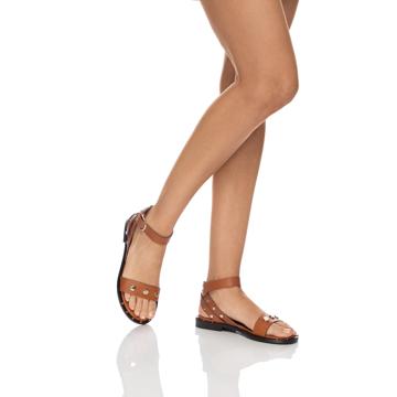 Sandale Dama 5846 Vitello Cuoio
