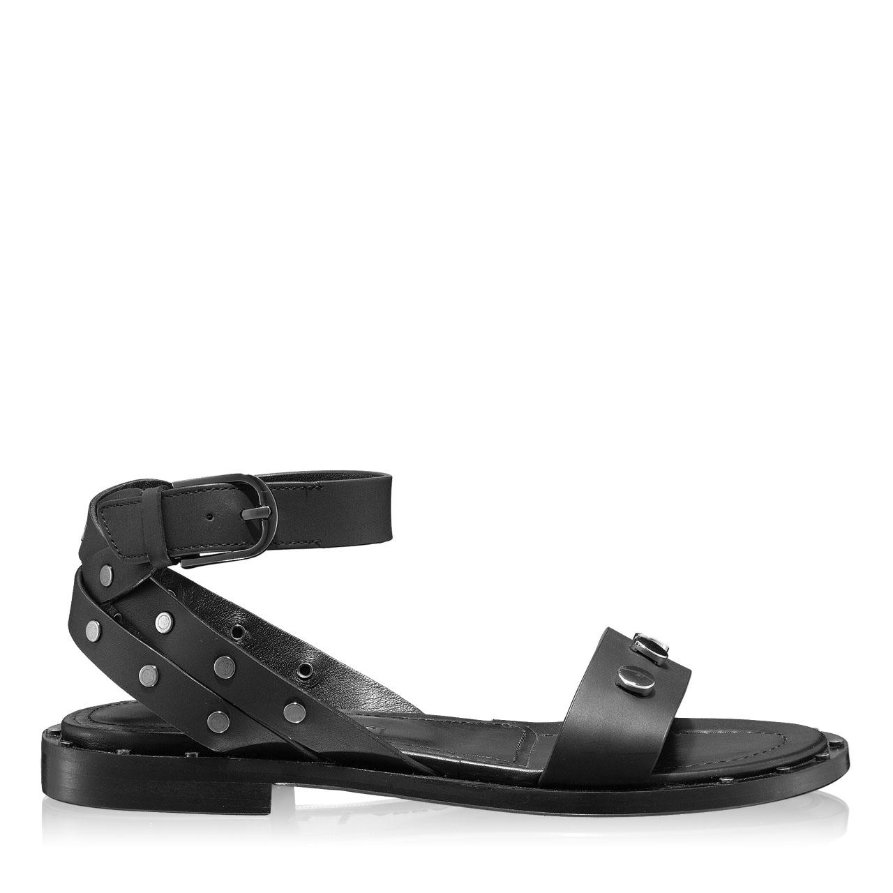 Imagine Sandale Dama 5846 Vitello Negru