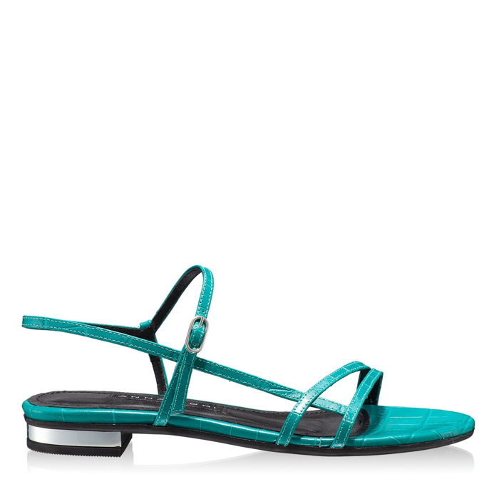 Sandale Dama 5850 Croco Turchese