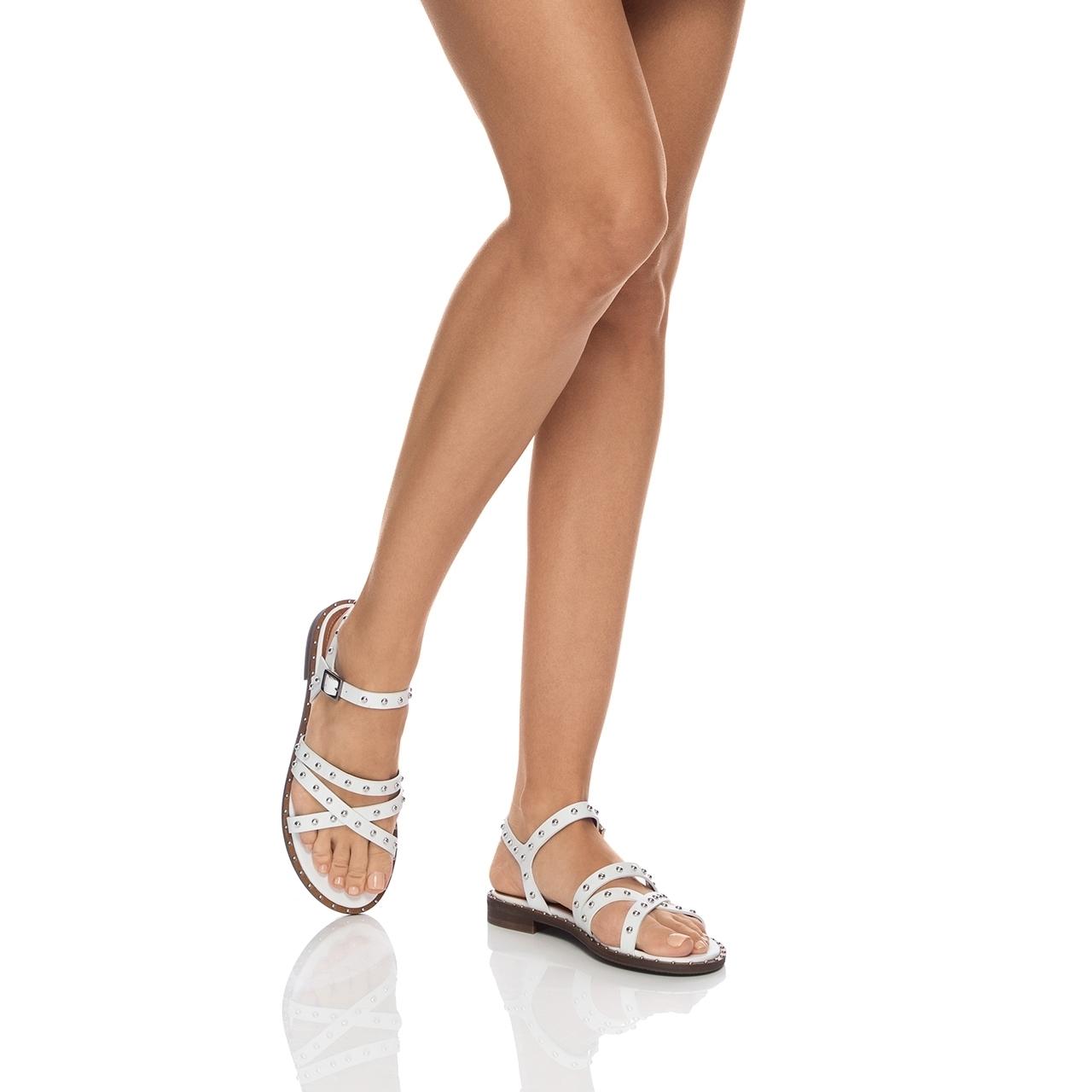 Imagine Sandale Dama 5876 Vitello Bianco