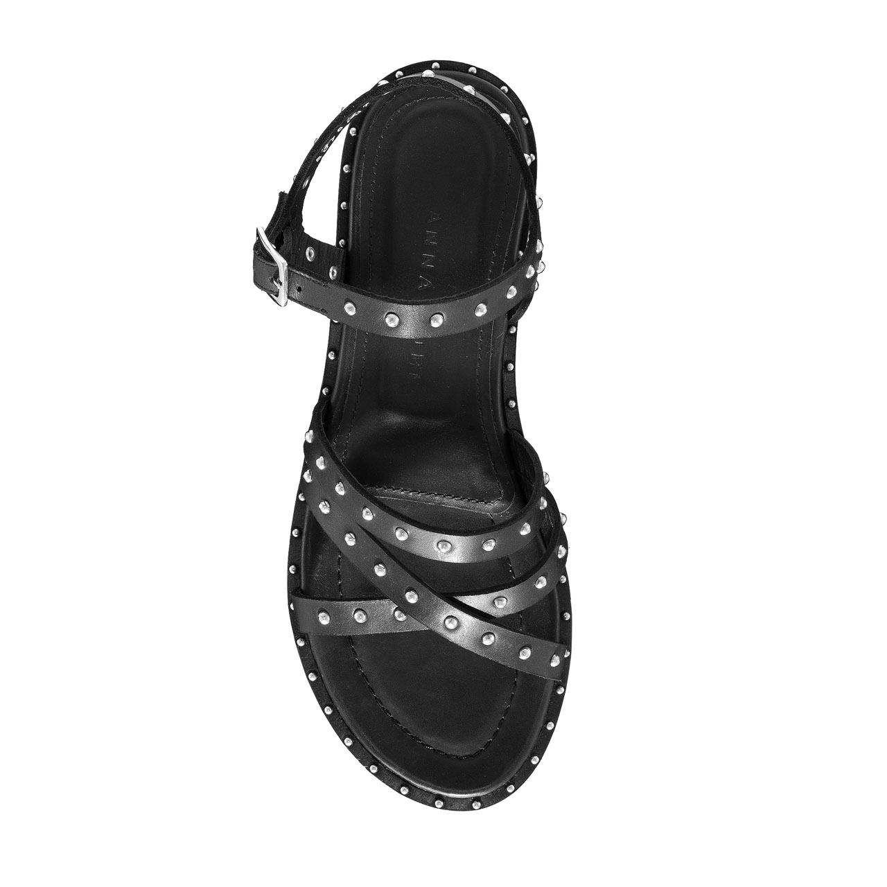 Imagine Sandale Dama 5876 Vitello Negru