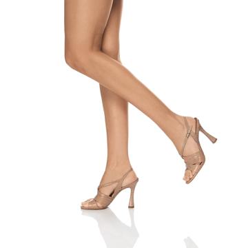 Sandale Dama 5888 Croco Beige