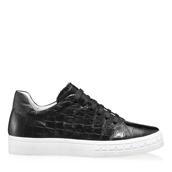 Imagine Pantofi Sport Dama 5909 Croco Negru