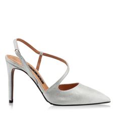 Imagine Pantofi eleganti dama 5533 Cam Stamp Argento