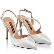 Pantofi eleganti dama 5533 Cam Stamp Argento