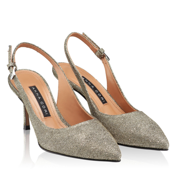 Pantofi eleganti dama 5728 Glitter Oro