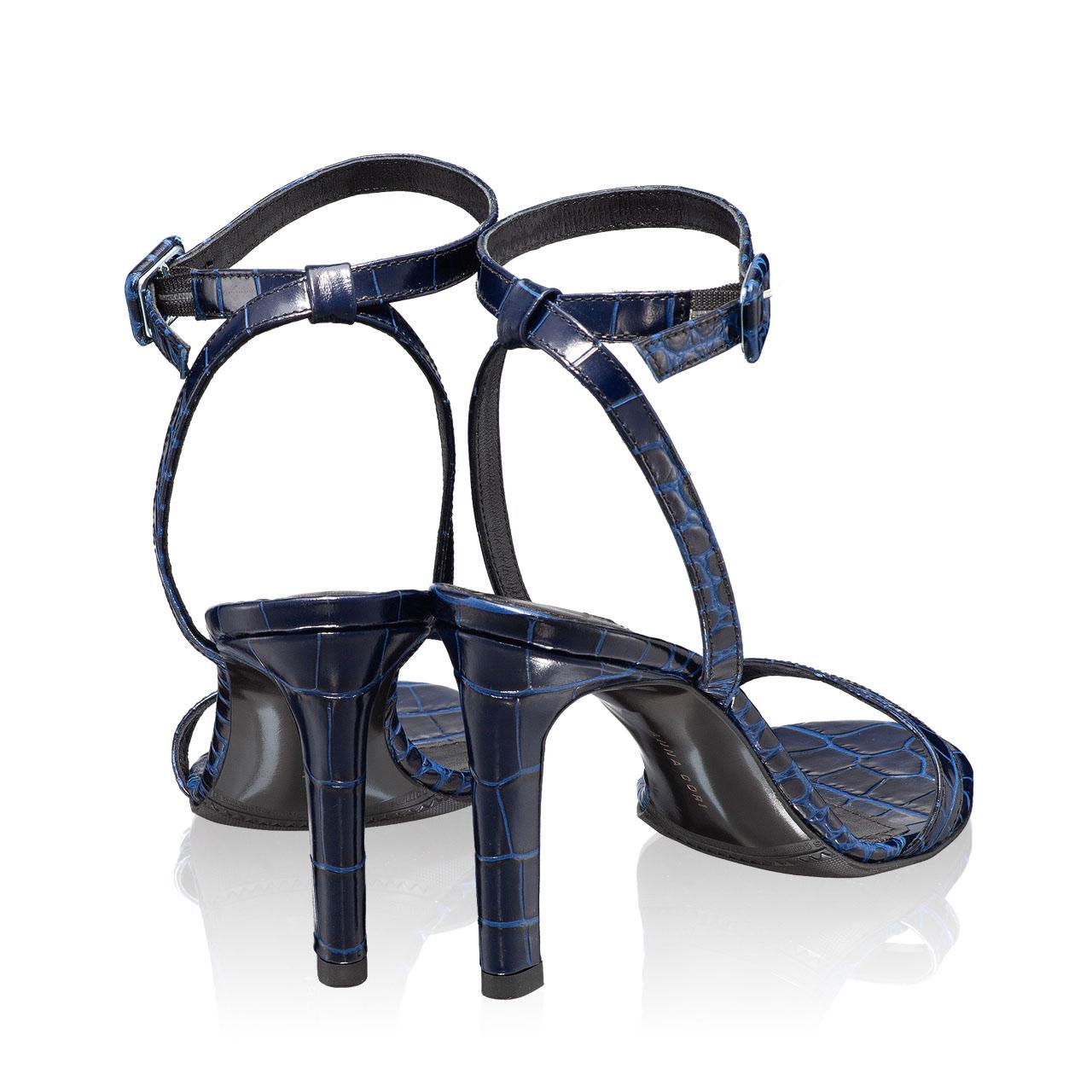 Imagine Sandale Dama 5842 Croco Blue