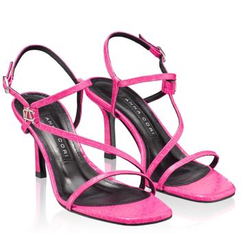 Sandale Dama 5880 Croco Fuxia